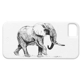 Telefonkasten Stier-Elefanten I Schutzhülle Fürs iPhone 5