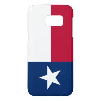 Telefonkasten Texas-Flaggen-Samsung-Galaxie S7