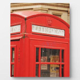 Telefonstiefel in London Großbritannien Fotoplatte