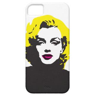 Telefonverpackung Marilyn_Pop Kunst-2017 iPhone 5 Hülle