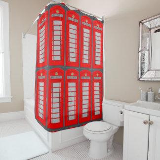 Telefonzelle Duschvorhang