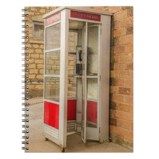 Telefonzelle - Münztelefon - Münztelefon - Notizblock