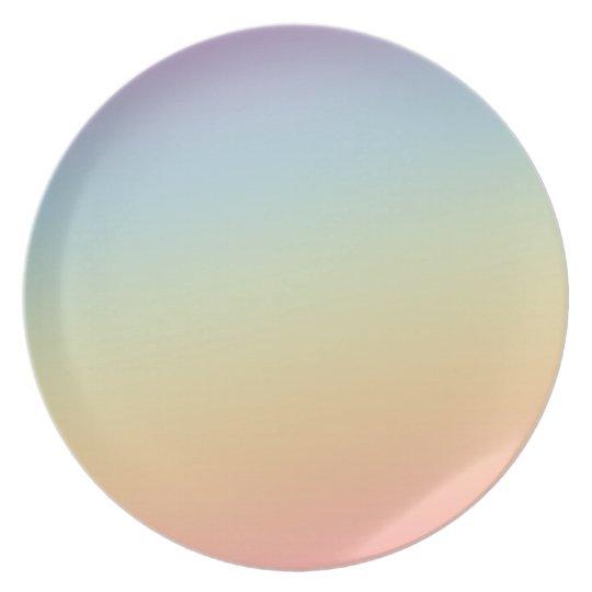 Teller von Melamina Gefälle von arcoiris