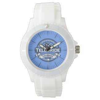 Tellurid-blaue Uhr