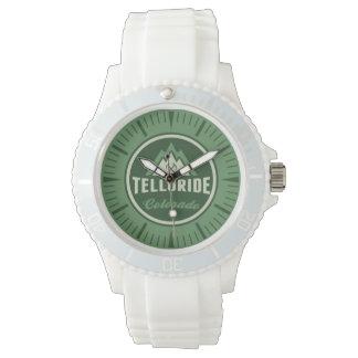 Tellurid-Gebirgskreis-Uhr Armbanduhr