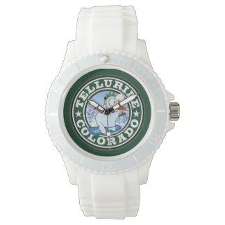 Tellurid-Schneemann-Kreis Armbanduhr
