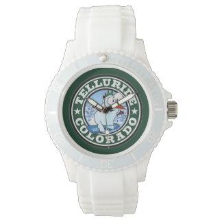 Tellurid-Schneemann-Kreis-Uhr Armbanduhr