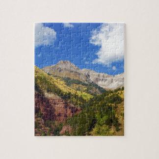 Tellurid-Tal-Herbst-Farben Puzzle