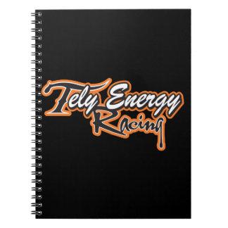 Tely Energie-laufendes Team-Kleid Notizblock