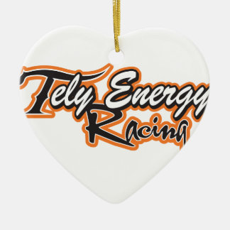 Tely Energie-Produkte Keramik Herz-Ornament