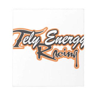 Tely Energie-Produkte Notizblock