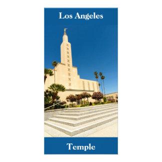 Tempel Bild-Karten-Los Angeless LDS Karte