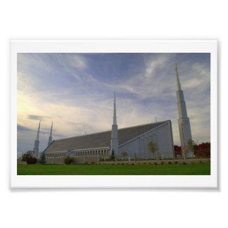 Tempel Boise, Idaho LDS Fotodruck