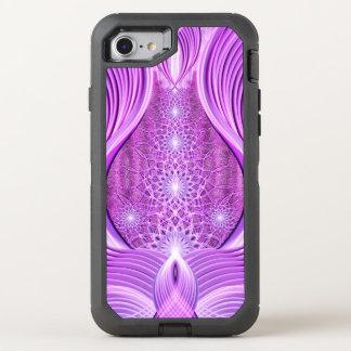 Tempel des violetten Lichtes OtterBox Defender iPhone 8/7 Hülle