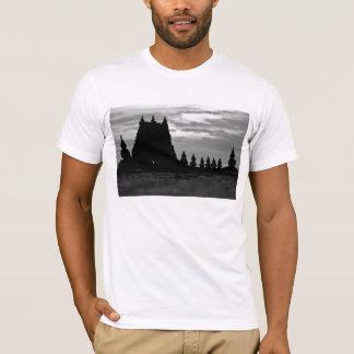 Tempel hergestellt vom Sand T-Shirt