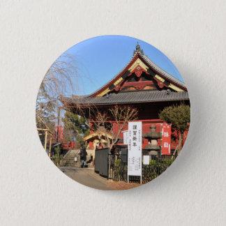 Tempel in Tokyo, Japan Runder Button 5,1 Cm