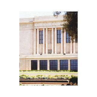 Tempel-Mormonenbild lds MESAs Arizona Leinwanddruck