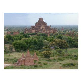 Tempel Postkarte