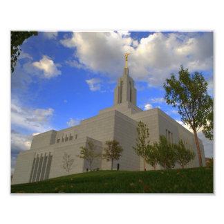 Tempel Textilkaufmann-Utahs LDS Fotodruck