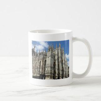 Tempel- und Steinsäulen Kaffeetasse