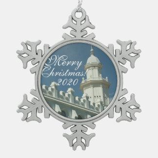 Tempel-Verzierung St George Utah Schneeflocken Zinn-Ornament