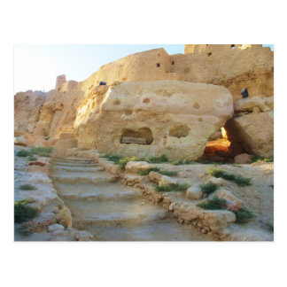 Tempel von Amon in Siwa - Siwa Orakel Postkarte