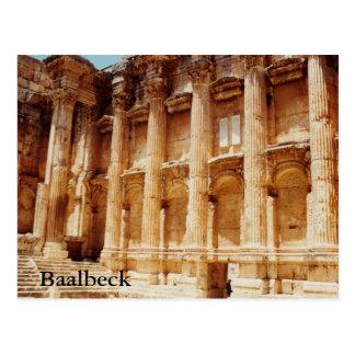 Tempel von Bacchus Postkarte