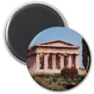 Tempel von Hera Kühlschrankmagnete