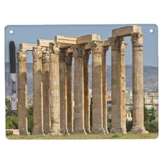 Tempel von olympischem Zeus, Athen, Griechenland Memo Board