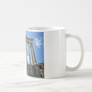 Tempel von Saturn - frühes 4. Jahrhundert BC Kaffeetasse
