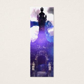 Tempel-Zeit vergaß Mini Visitenkarte