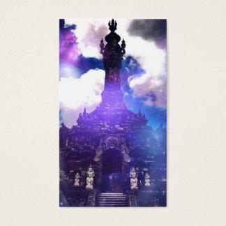 Tempel-Zeit vergaß Visitenkarte
