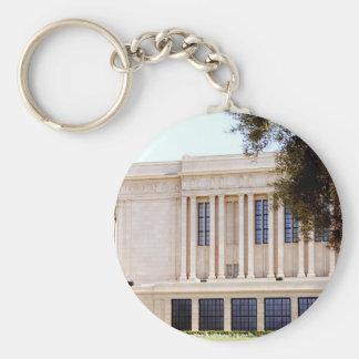 Tempelbild lds Mormonen-MESAs Arizona Schlüsselanhänger