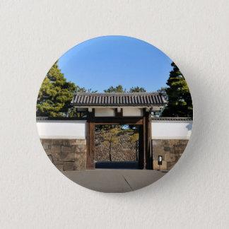 Tempeltor in Tokyo, Japan Runder Button 5,1 Cm