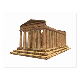 Tempio della Concordia Tempel der Übereinstimmung: Postkarte