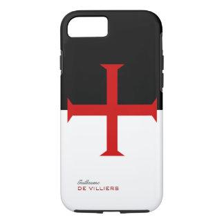 Templar Flaggen-Kasten mit Ihrem Namen iPhone 8/7 Hülle