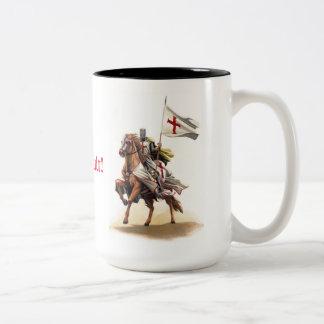 Templar Ritter Deus Vult Tasse