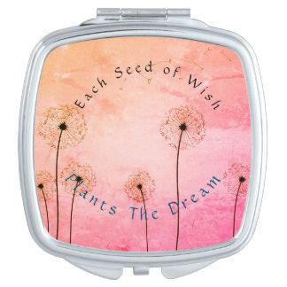 Template-Dandelion's_Seeds Pflanze ein Dream_CDPS Schminkspiegel