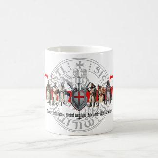 Templer-Brüder mit Siegel Tasse