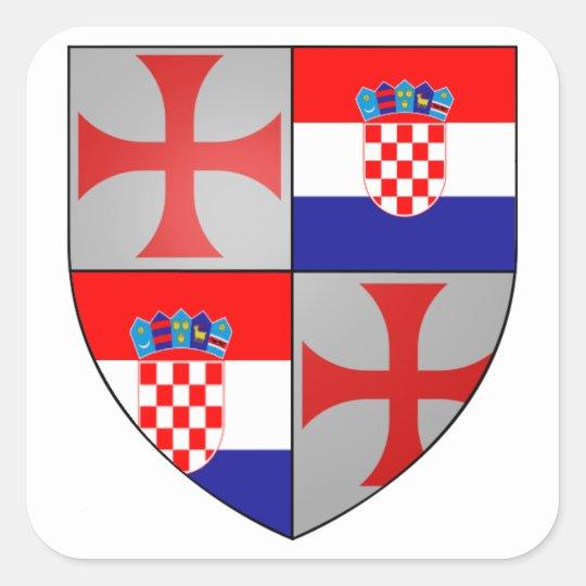 Templer Croatia Aufkleber Nr. 0205092013