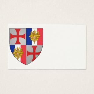 Templer Frankreich Visitenkarten Nr. 0217092013