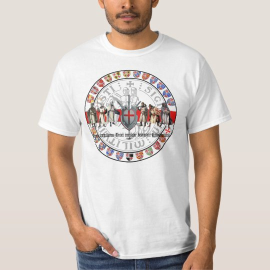 Templer Großmeister u. Siegel Shirt Nr. 0103082013