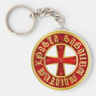 Templer Kreuz / Ritterkreuz / Crusaders Cross Schlüsselanhänger