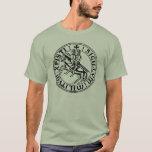 Templer-Ritter-Shirt T-Shirt
