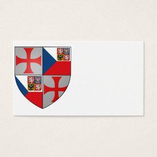Templer Tschechien Visitenkarten Nr. 0131082013