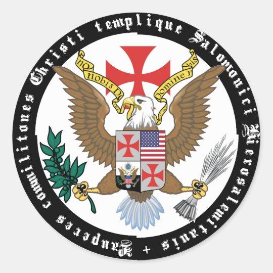 Templer USA Aufkleber Nr. 0829122013