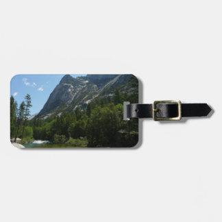 Tenaya Nebenfluss in Yosemite Nationalpark Gepäckanhänger