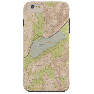 Tenaya See, Yosemite-topographische Karte Tough iPhone 6 Plus Hülle