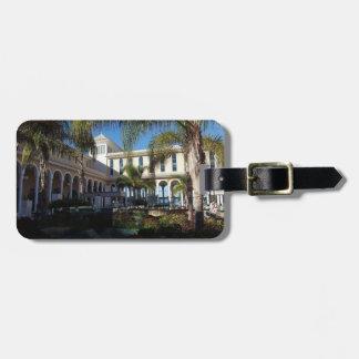 Teneriffa-Hotel und Palme-Gepäckanhänger Gepäckanhänger