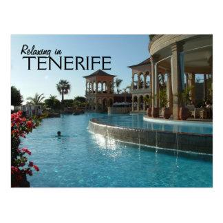 Teneriffa-Postkarte Postkarte